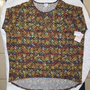 LuLaRoe Irma - Womens Plus Size Blouse - 3XL Tunic